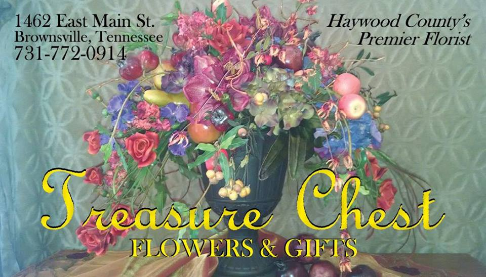 Treasure Chest Flowers & Gifts Logo
