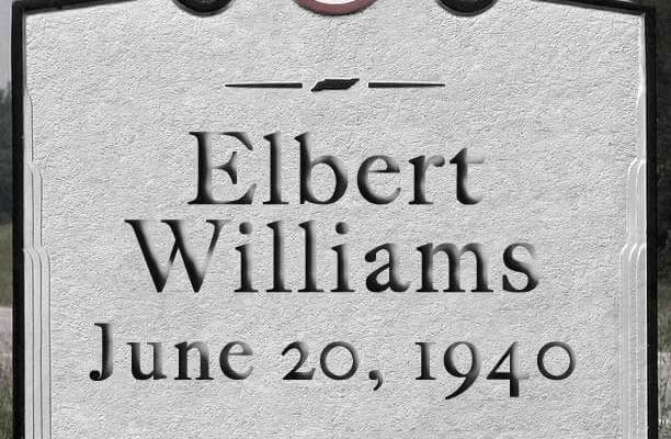 The Elbert Williams Memorial Comm.
